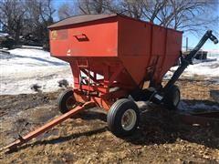 Harvest King 200 BU Wagon W/Unverferth Bulk Seed Auger