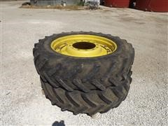 380/80R38 Michelin Front Tractor Dual Tires And Wheels
