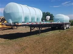 2000 Transcraft T/A Flatbed Trailer w/Mixing Station