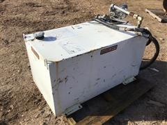 Weather Guard 100-Gal Fuel Tank W/12V Motor & Pump