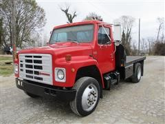 1988 International S1954 Flatbed Truck