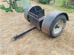 2 Wheel Dolly Trailer To Pull Narrow Front Tractor
