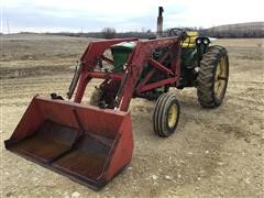 1967 John Deere 2510 2WD Tractor And Loader
