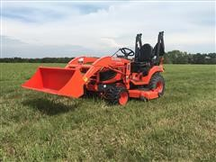 2014 Kubota BX2670 Compact MFWD Utility Tractor w/ Loader & Mower