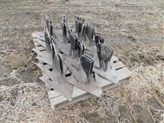 B&H Cultivator Foot Pieces And Sweeps