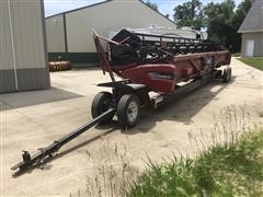 2008 Case IH 2020 35' Flex Header & Cart