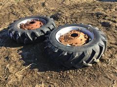 Allis WD 13.6-28 Rear Tires & Rims