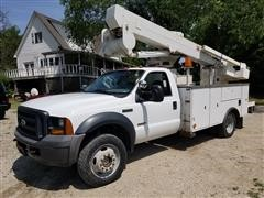 2006 Ford F550 XL 4x4 Bucket Truck