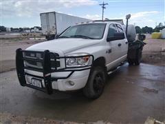 2008 Dodge Ram 3500 Pickup W/Liquid Feed Skid Unit
