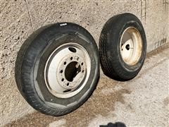 Goodyear Hi Miler 11-22.5 Tires On Rims