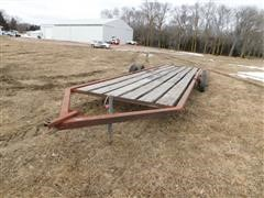Donahue Flat Load T/A Implement Trailer