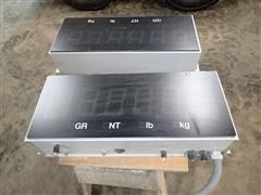 Rice Lake Laser Light 4 Scale Displays