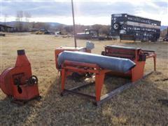 "American Sawmill Machinery 36"" Economy Engine Drive Lumber Edger"