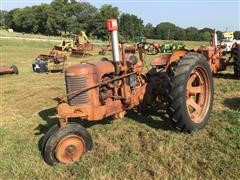 1949 Case SC 2WD Tractor