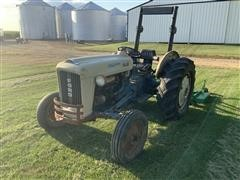 Ford 4000 2WD Tractor W/3-Pt Mower