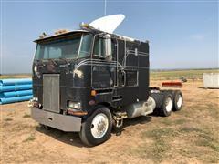 1985 Peterbilt 362 T/A Cabover Truck Tractor