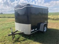 2008 Haulmark TS5X8DS2 Enclosed Trailer