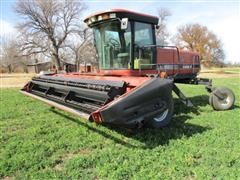 2002 Case IH 8870 Self-Propeled Windrower