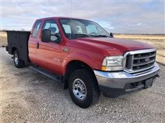 2004 Ford SRW Super Duty F250 XLT 4x4 Extended Cab Pickup