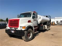 2002 Sterling LT9500 T/A Fire Truck Water Tanker
