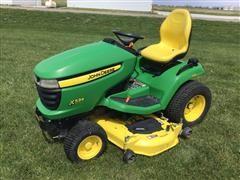 """2012 John Deere X534 4-Wheel Steer Lawn Tractor W/ 54"""" Deck"""