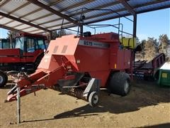 1997 Case IH 8575 Silage Special Big Square Baler W/Accumulator