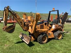 2011 Astec RT560 Trencher/Backhoe/Backfill Blade