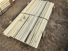 """5/8"""" X 6' Long Fiberglass Fence Posts"""
