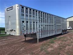 2001 Wilson PSDCL-302 Tri/A Livestock Trailer