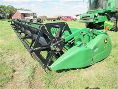 John Deere 630 Hydraflex 30' Header & 32' Harvest Hand Transport