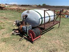 Truck Mount Spray Tank W/Hose Reel