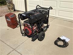 Generac & Lincoln 17,500 Watt Generator, 225 Amp AC/DC Welder