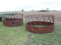 Approx. 8' Diameter Round Bale Feeders
