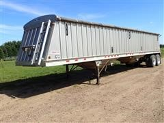 "2012 Dakota 96""X41' T/A Hopper Bottom Grain Trailer"