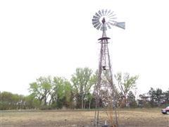 Aermotor 8' Windmill Head W/App 30' Tower