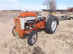 1963 Ford 801 2WD Tractor W/Post Hole Digger Attachment