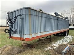 1980 Pamco T/A Bulk Feed Trailer