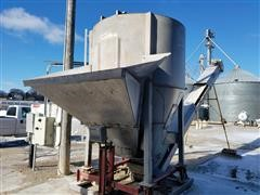 Kraus Stainless Steel 8 Ton Blender & Conveyor
