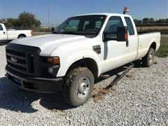 2009 Ford F250XL Super Duty 4x4 Extended Cab Pickup Truck