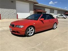 2004 BMW 325 CI Convertible