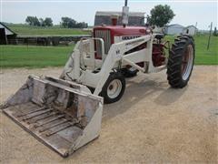 1962 International Farmall 504 2WD Tractor W/International 2001 Loader