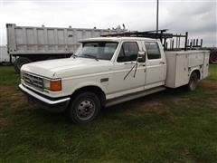1987 Ford F350 XLT Lariat Service Truck