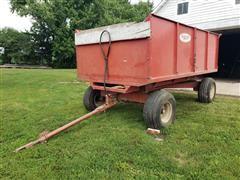 Bush Hog Stan-Hoist Wagon
