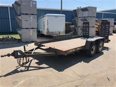 1981 Shop Built T/A Trailer W/Ramps