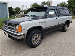 1987 Dodge Dakota 4x4 Pickup