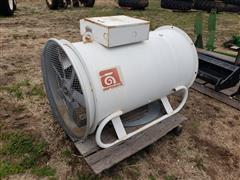 General Electric Grain Bin Fan/Gas Burner
