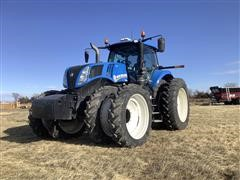 2015 New Holland T8.435 MFWD Tractor