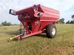 2010 J & M 750-18 Grain Cart/Auger Wagon
