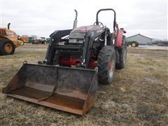 2004 McCormick CX85 MFWD Tractor W/Westendorf TA26 Loader