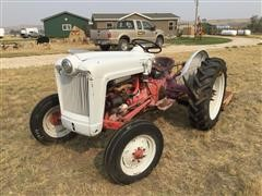 "1953 Ford Golden Jubilee 2WD Tractor W/60"" Woods Dixie Cutter"